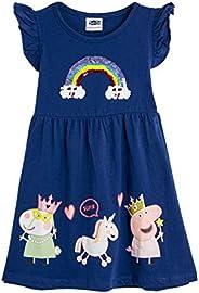 Peppa Pig Vestido para Niñas Verano | Conjunto Infantil Rosa Sin Mangas | Vestidos Niña Verano Algodón | Vesti