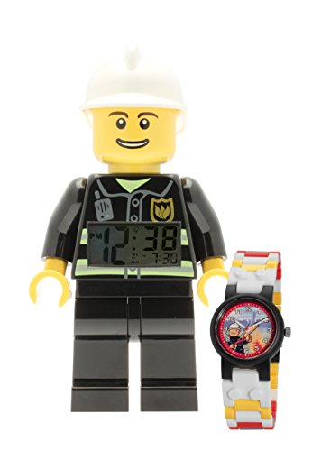 LEGO-City-Fireman-clock-and-watch-bundle
