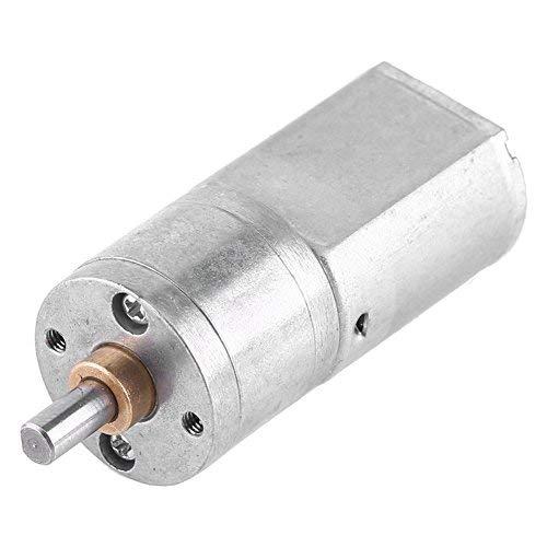 Hochdrehmoment Turbo Getriebemotor Motor DC 12V elektrische Total Metall Geschwindigkeitsreduzierung Getriebe 15/30/50/100 / 200RPM(12V 200RPM) (12v Getriebemotor)