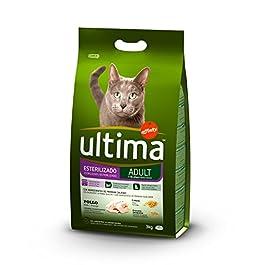 Ultima Cibo per Gatti Sterilizzati con Pollo – 3 kg – 1 Bag
