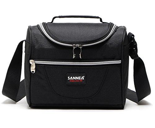 Bolsa térmica de Yvonnelee, de 5L, con aislamiento, para almuerzo, picnic, trabajo, ciclismo, viaje o para la escuela; unisex, tamaño pequeño