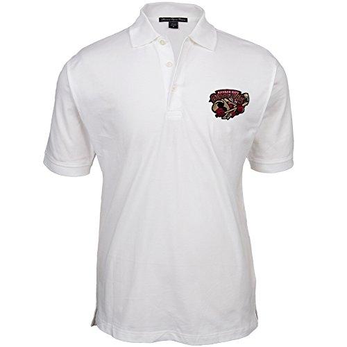 Old GloryHerren Poloshirt Weiß - Weiß