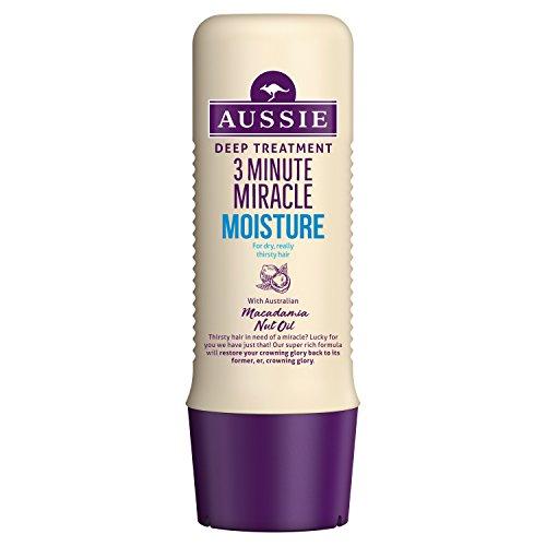 Aussie 3 Minute Miracle Moisture Deep Treatment Conditioner, 250 ml - Deep Moisture Conditioner