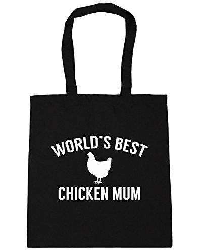 hippowarehouse-worlds-best-chicken-mum-tote-shopping-gym-beach-bag-42cm-x38cm-10-litres