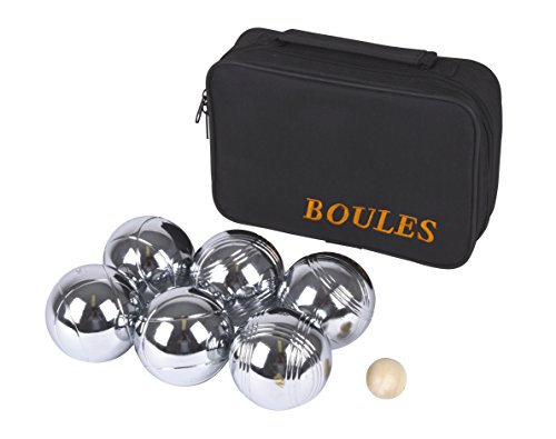 Weiblespiele 010204 - Boules-Set, 6-teilig