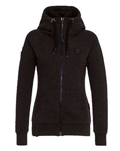Auxo-Women-Slim-Fleece-Hoodie-Zip-Up-Casual-Winter-Long-Sleeve-Pocket-Tops-Pullover-Jacket-Coat