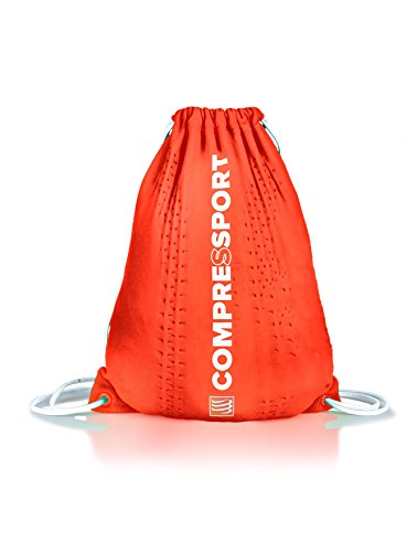 Compressport Endless Backpack Rucksack Beutel Sport Training Wettkampf Bag Tasche (blue) orange