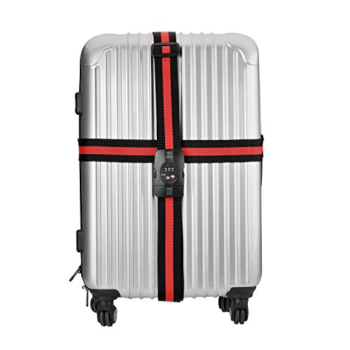 Tinxi TSA equipaje Correa Cruz correa de equipaje correa de equipaje c