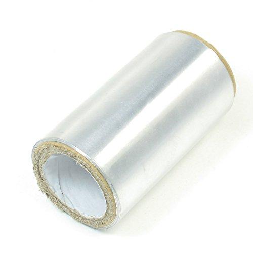 SODIAL(R) 1 Rodillo de 50m Cinta de Aluminio para Peluqueria de tono de plata