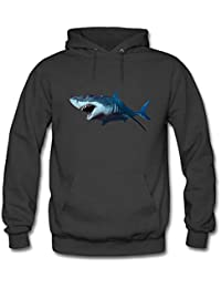 Men's Hoodies Sweater 3D shark printed Pullover Tops Blouse