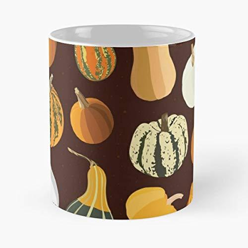 Pumpkin Pumpkins Fall Autumn - Coffee Mug Tea Cup Gift 11oz Mugs The Best Holidays.