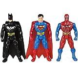 JINKRYMEN Hero Figures (Multicolour) - Pack of 3