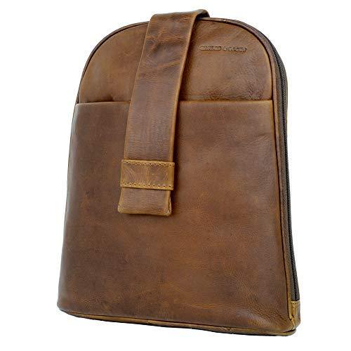 96f43bfaa6471 HARLEE   SCOTT Lederrucksack Damen City-Rucksack Mini Rucksack-Handtasche  Studenten-Rucksack vintage