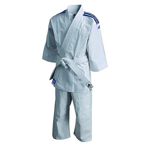 adidas - Tenue Kimono de judo Evolution (avec ceinture blanche)J200 T110/120- ADIJ200E