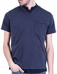 Unnati - Camiseta Doble Cuello sobretintado