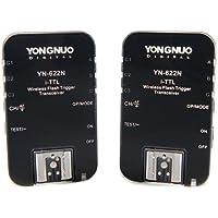 YONGNUO TTL sans fil Déclencheur Flash YN-622N YN622 N avec HSS pour Nikon+WINGONEER® difusor
