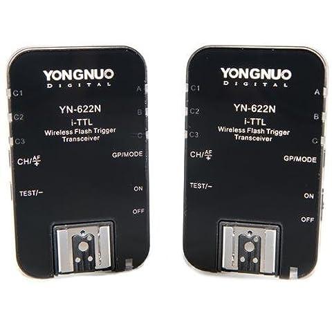 YONGNUO TTL sans fil Déclencheur Flash YN-622N YN622 N avec HSS pour Nikon+WINGONEER® diffuseur