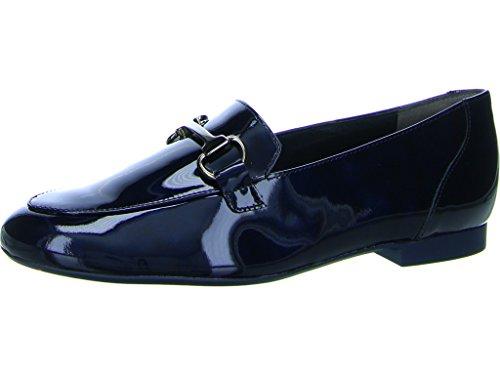 Paul Green 1071-072, Blau Femme Moccassins