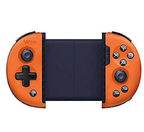 Flydigi Mobile Game Controller, kleines somatosensorisches 2T-Teleskop-Gamepad Plus-Expander zum Anschließen von Maus und Tastatur (Korb Orange) (Wee Wee-pads Klein)