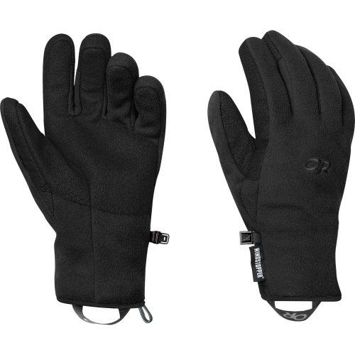 Outdoor Research Windstopper Fleece (Outdoor Research Damen Handschuhe Gripper, Damen, schwarz, Medium)