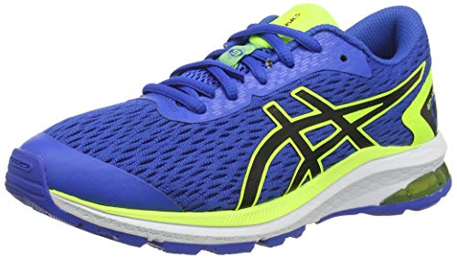 ASICS Unisex-Child GT-1000 9 GS Running Shoe, Directoire Blue/Black