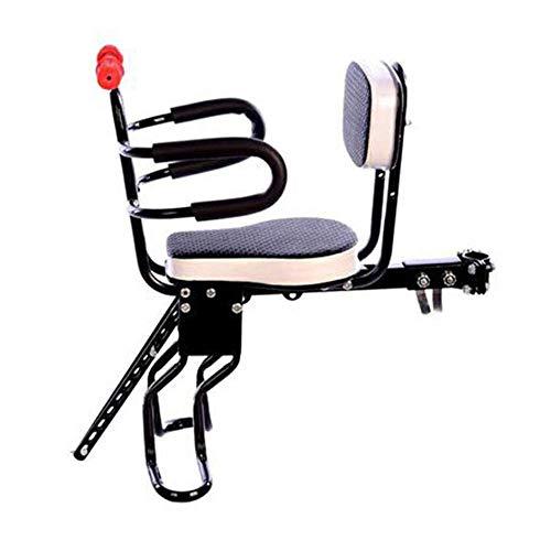 WYBD.Y Tragbarer Kindersitz für Fahrräder und elektrische Fahrräder mit Armlehne und Pedal. Abnehmbarer Zaun. Kindersitz für Fahrräder. Elektrischer Kindersitz für Fahrräder