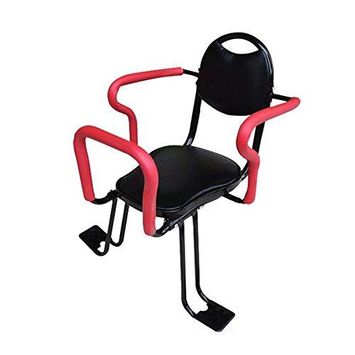 NACHEN Baby Bike Seat Scooters eléctricos Bicicletas Asientos para niños Sillas traseras Asientos de Seguridad, Red