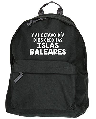 HippoWarehouse Y Al Octavo Día Dios Creó Las Islas Baleares kit mochila Dimensiones: 31 x 42 x 21 cm Capacidad: 18 litros