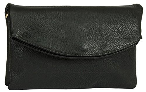 Big Handbag Shop ,  Damen Umhängetaschen Black - Plain