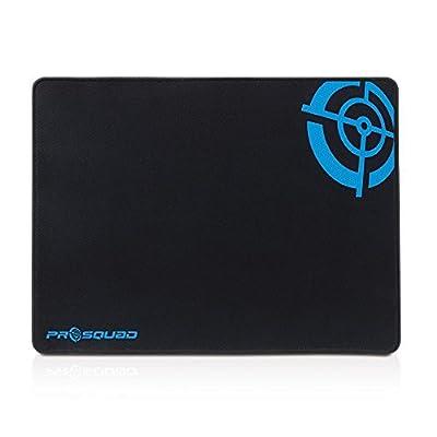 HDSupply Prosquad SQ2300 Alfombrilla de ratón para juegos, almohadilla de velocidad profesional, antideslizante y precisa, M: 25x35cm, negro