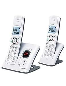 Alcatel F 580 DUO Voice Téléphones Sans fil Répondeur Ecran