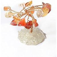 Natur Miniatur Reiki Charged Karneol Kristall Edelstein Baum als Geschenk verpackt. preisvergleich bei billige-tabletten.eu
