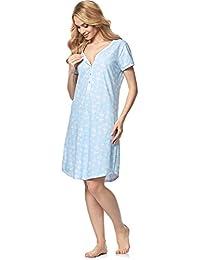 Italian Fashion IF Women's Nursing Nightdress Alisa 0114
