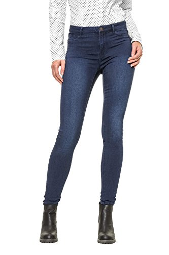 VERO MODA Damen Jeanshose Dark Blue Denim