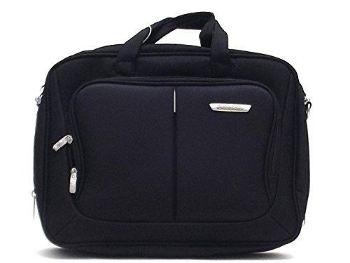"""Roncato uomo 417046, borsa porta pc 15.6"""", poliestere colore nero"""