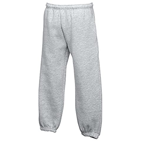 Fruit of the LoomJungen Hose, Grau - Heather Grey, 9/11 Waist 32'