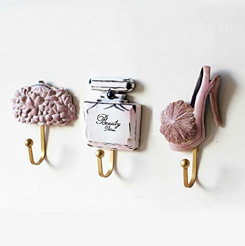 - 41jKHN2FhmL - Creative Old Clothes Hook Hanging Hook Resin, Handbags, Women'S Clothing Store Decoration Wall Hook