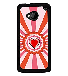 Fiobs Designer Back Case Cover for HTC M7 :: HTC One M7 (jaipur rajasthan african america cross pattern)