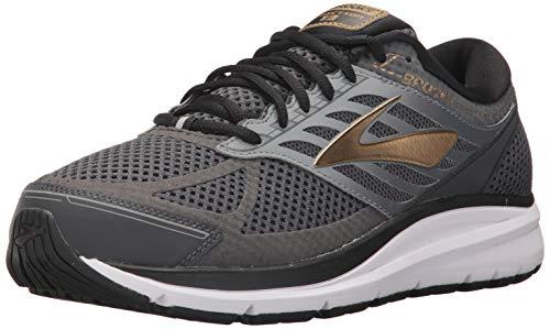 Brooks Addiction 8 Schuhe (Brooks Men's Addiction 13 Black/Ebony/Metallic Gold 8 EE US)