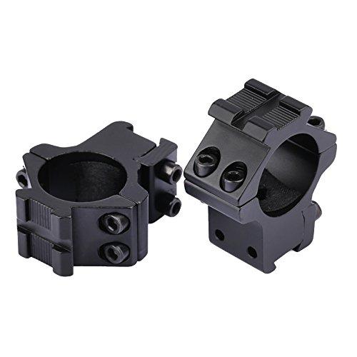 Dophee 2Pcs Zielfernrohr Montage Ringe 25,4mm 1