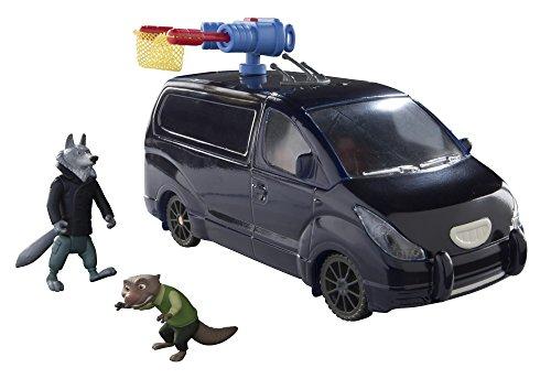 TOMY Disney - Zootropolis - Capturar el Sr. Otterton - Paquete de vehículo 2 Caracteres