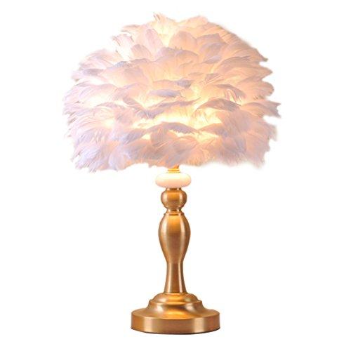 er Kupfer Schreibtischlampe Schlafzimmer Nachttischlampe Paar Einfache Home Romantische Kreative Tischlampe ()