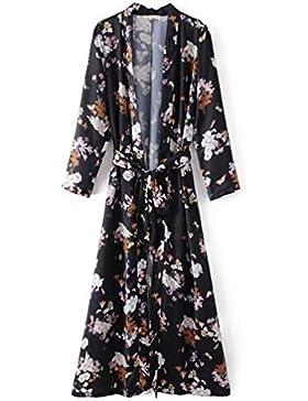 Long Beach kimono mujer cardigan untar pijamas