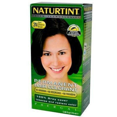 Naturtint 3N Permanent Dark Chestnut Brown Haircolor Kit, 4.5 Ounce -- 3 per case. by Naturtint