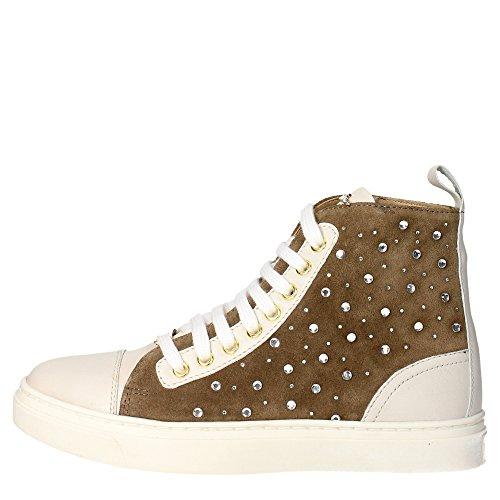 Braccialini B2 Sneakers Donna Pelle/camoscio TAUPE TAUPE 36