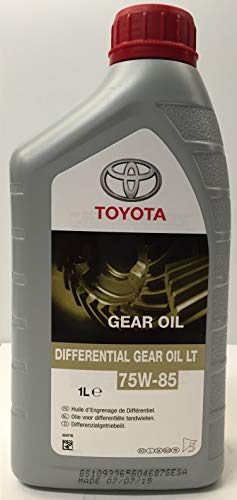 Olio differenziale Originale Toyota LT 75W-85, 1 lt