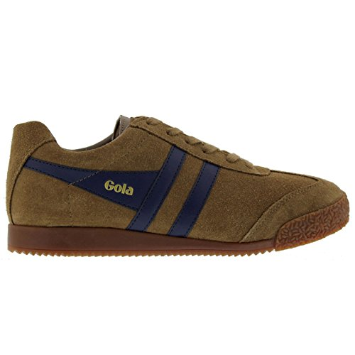 Gola Sport Womens Harrier Suede Trainers Tabaco