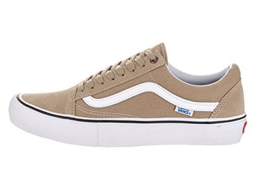 Chaussures Vans Old Skool Pro Khaki/White Khaki/white