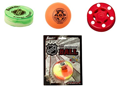 Franklin, Base Streethockey Ball & Puck Set standard -