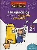Vacaciones Santillana, lengua, ortografía y gramática, 2 Educación Primaria. Cuaderno
